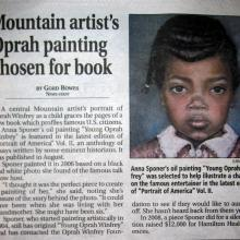 """Oprah Winfrey"" Hamilton Mountain News_2010"