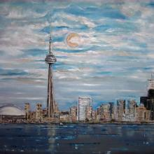 Toronto CN Tower, Lake View II